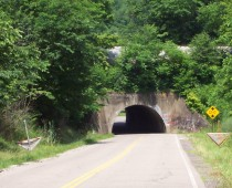 Do you know where on the old Bloomingdale-Smithfield-Chandler road in Jefferson County is this one lane tunnel beneath a railroad line? Tunnel is between Bloomingdale and Friendship Park.