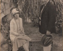 Emma Carter Sharpe and husband Alexander Sharpe about 1920